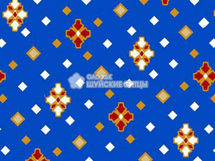 Ткань Ситец 80 см - 88111 - Синий