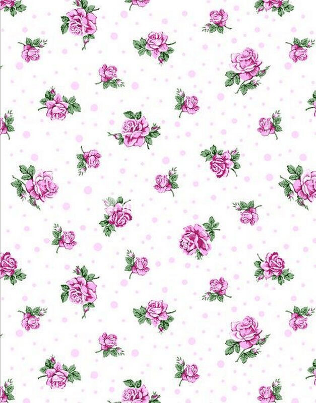 Ткань Ситец 80 см - 85851 - Розовый