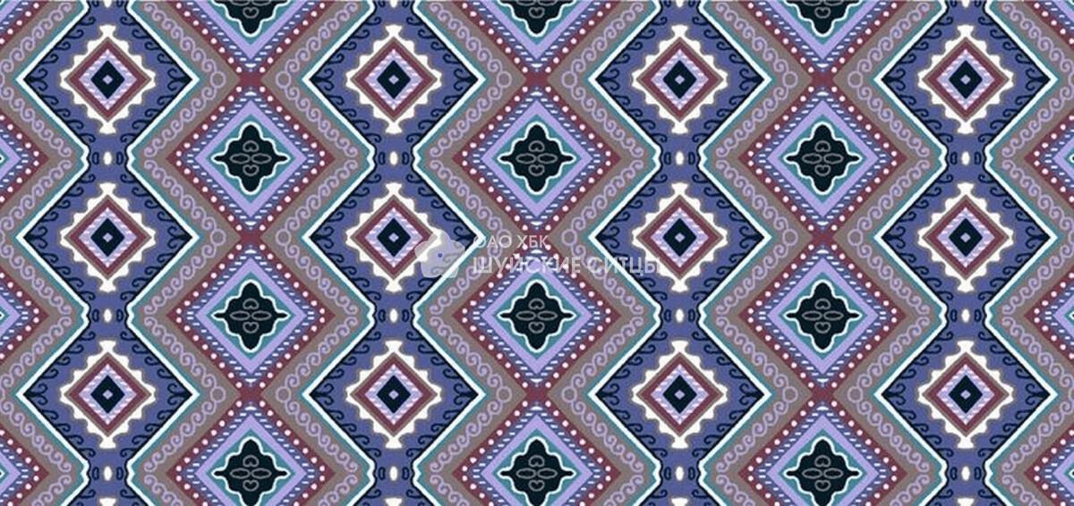 Ткань Ситец 80 см - 83471 - Ромбы