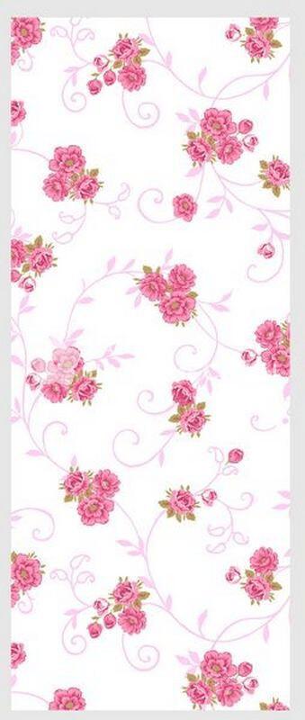 Ткань Ситец 80 см -  72721 - Красные цветы