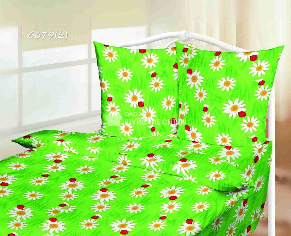 Ткань Ситец 80 см -  66792 - Зеленый