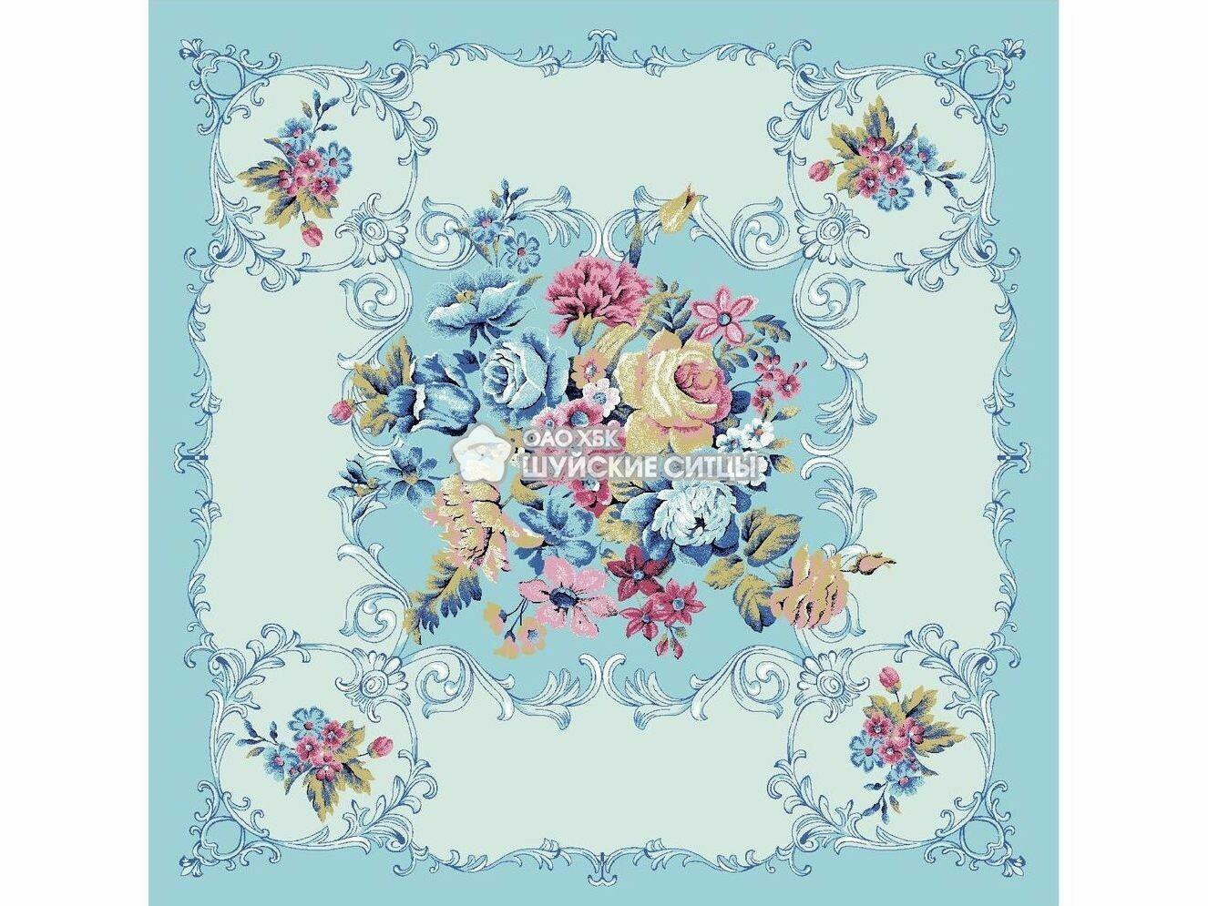Ткань Ситец 95 95761 - Голубой