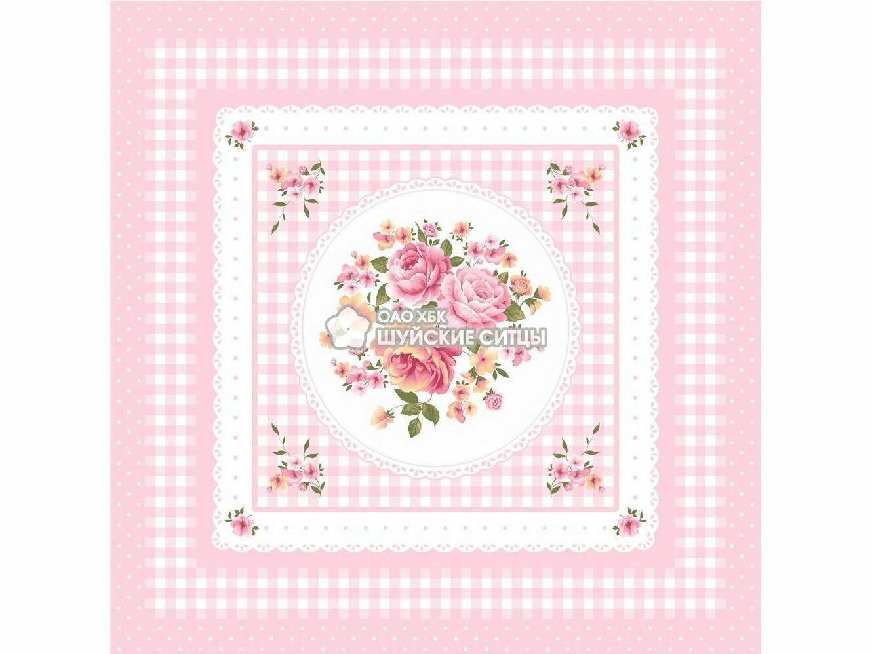Ткань Ситец 95 95841 - Розовый