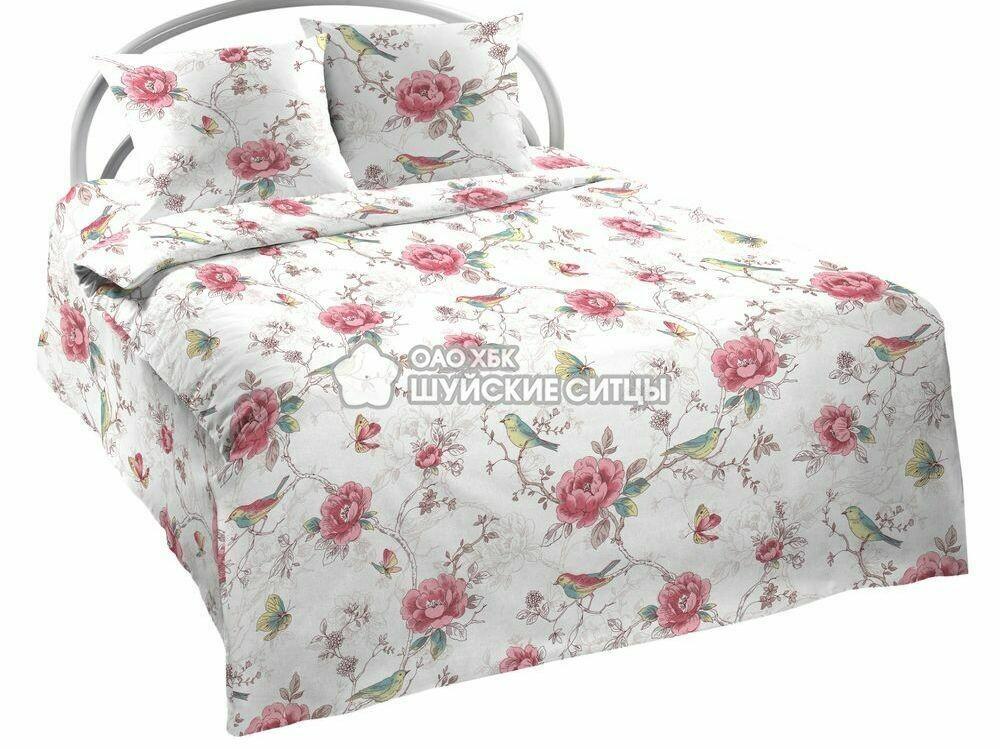 Ткань Ситец 150 94961 - Постельное белье Розы