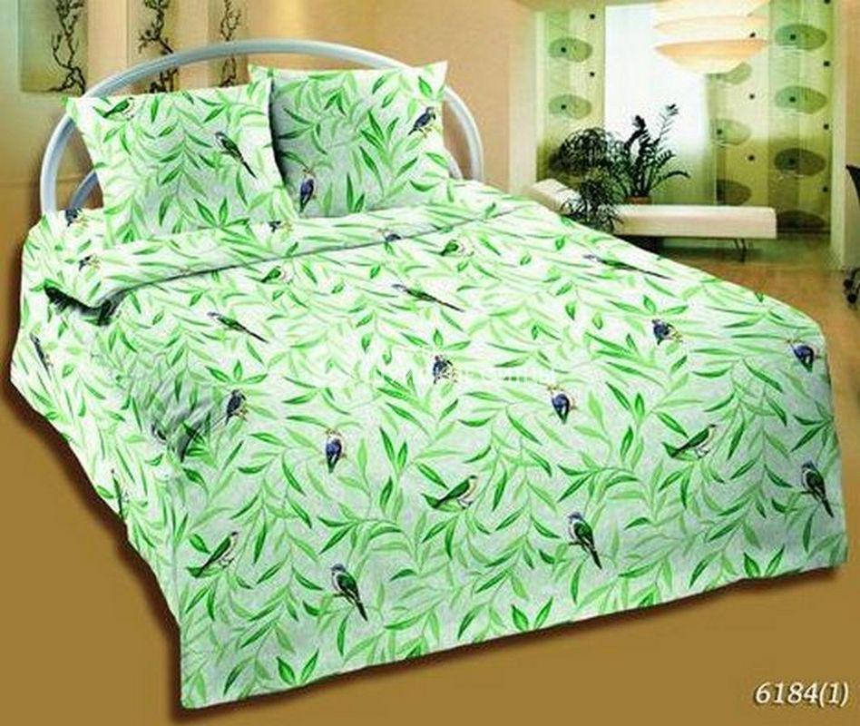 Ткань Ситец 150 61841 - Постельное белье Зеленый