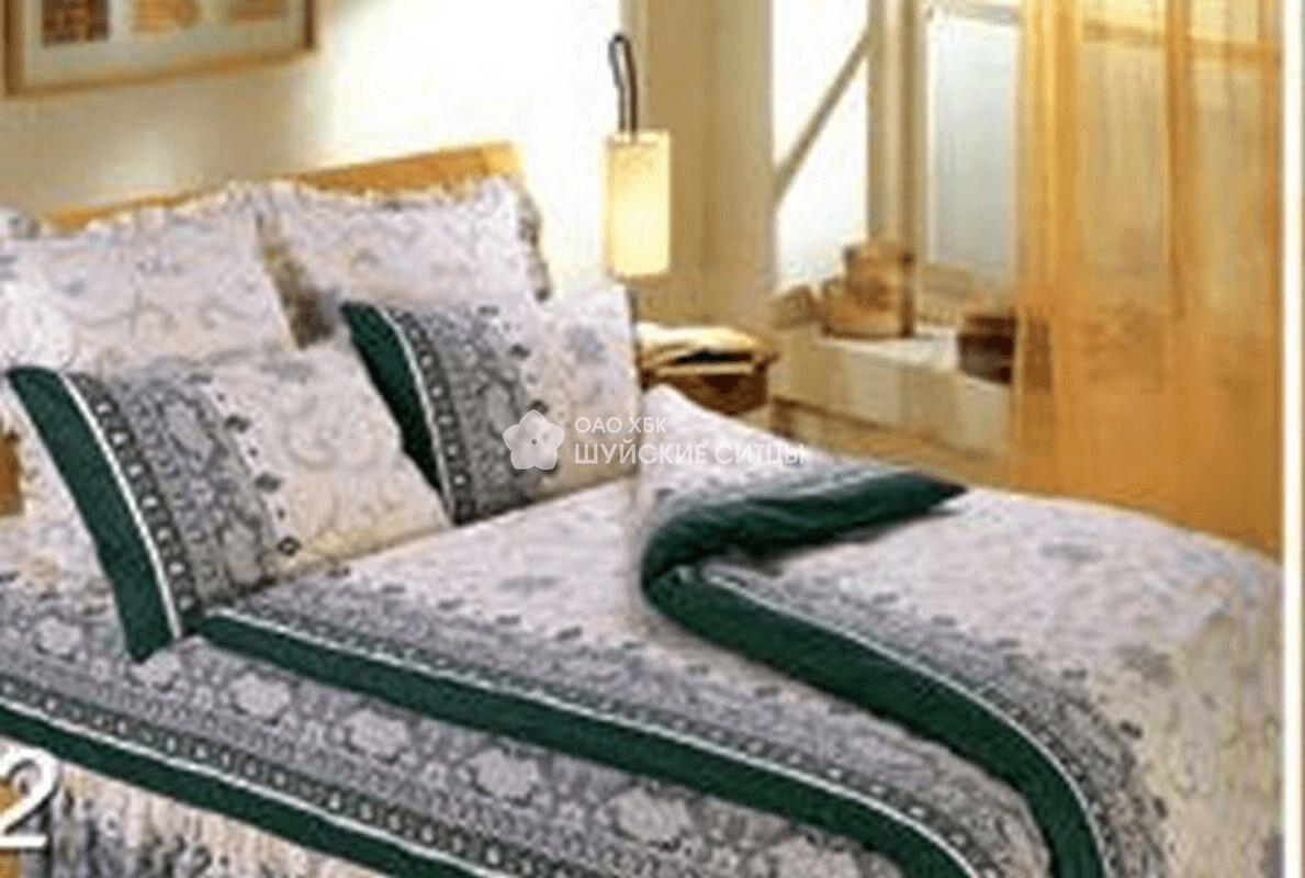 Ткань Ситец 150 59292- Постельное белье Темно зеленый