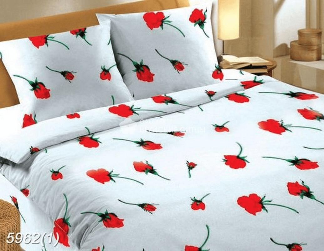 Ткань Ситец 150 59621 - Постельное белье Розы