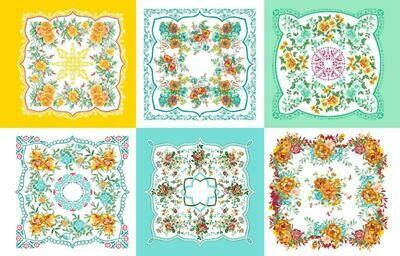 Ситец 95 см 21218-1 Цветочная поляна