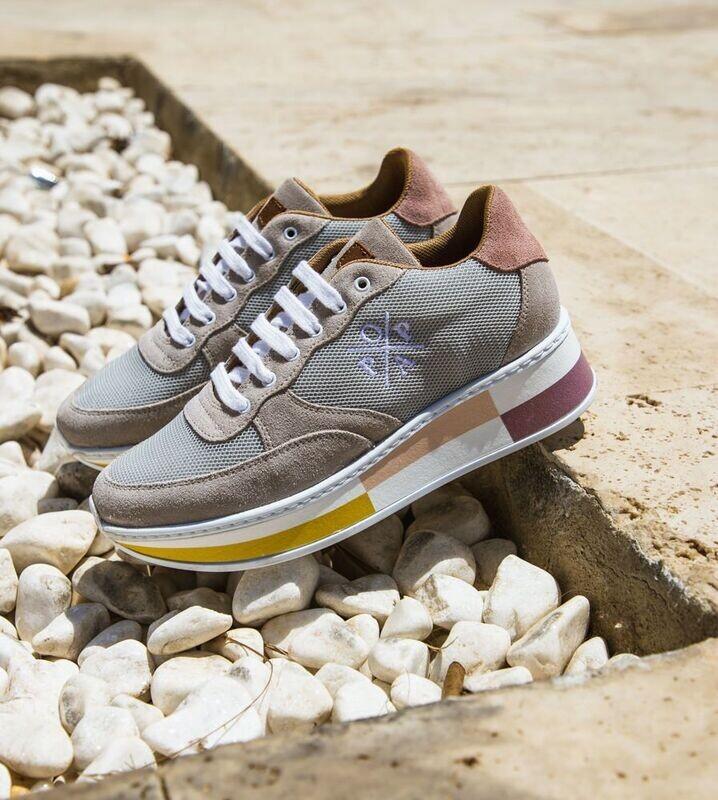 Sneaker MIREIA GRIS