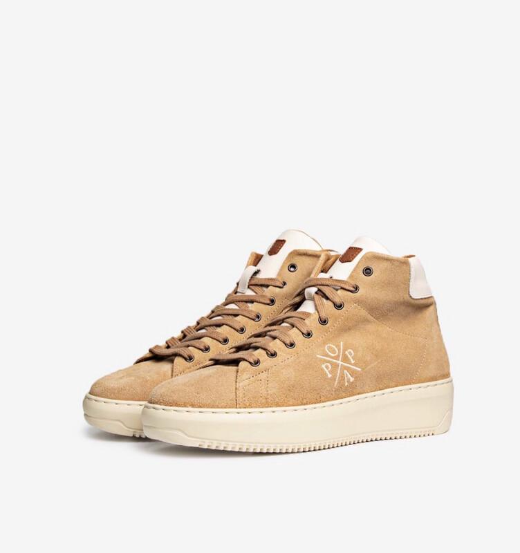Sneaker Bota beig serraje