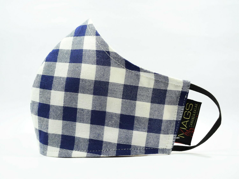 Blue Linen Checks