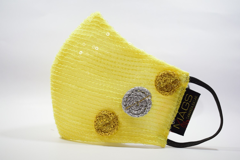 Yellow Sequin
