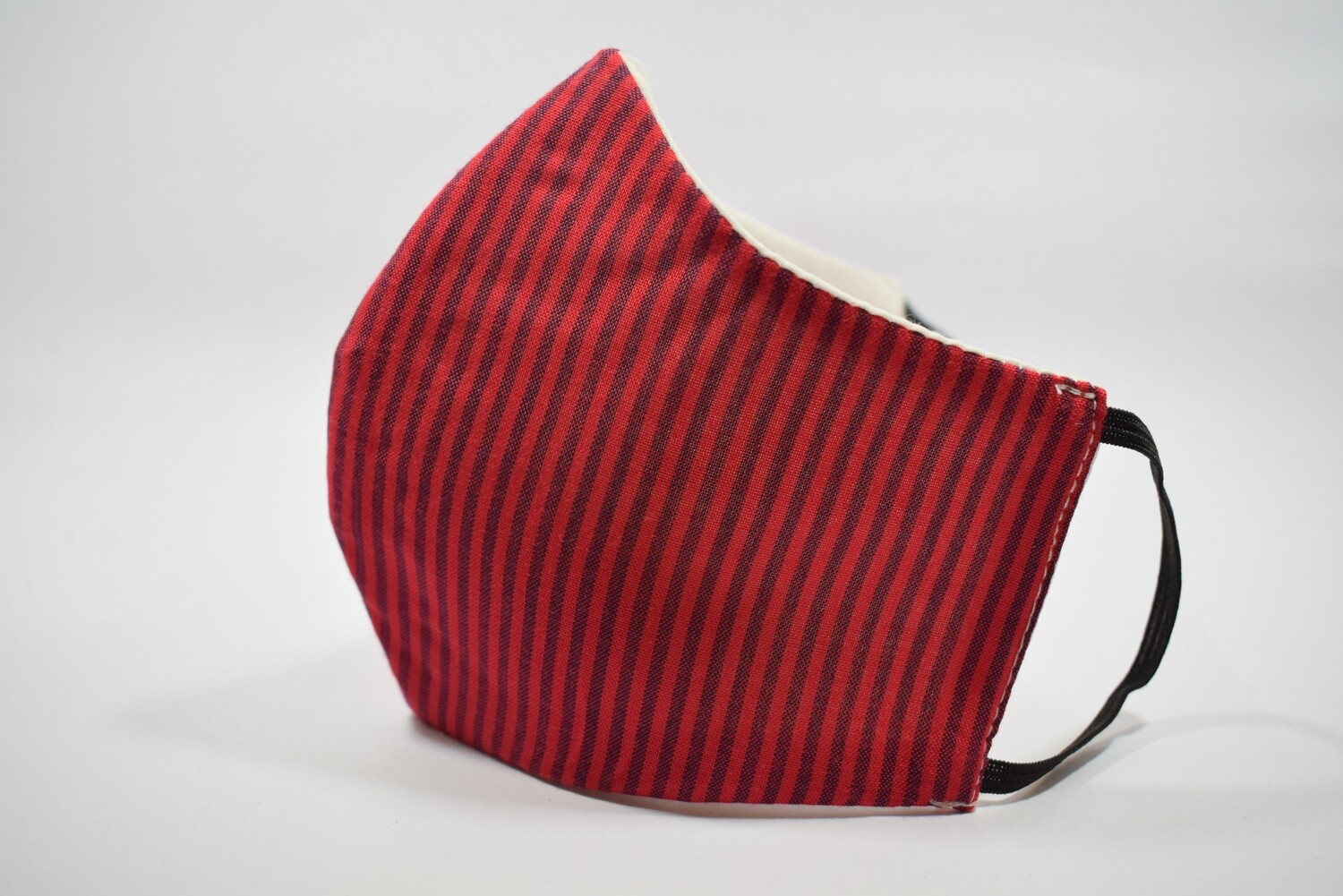 Red Maroon Striped