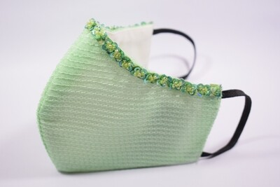 Green Sequin with Filter Pockets