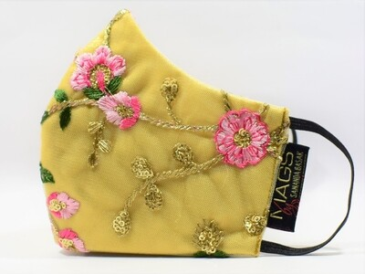 Zardosi And Thread Embroidered Gold