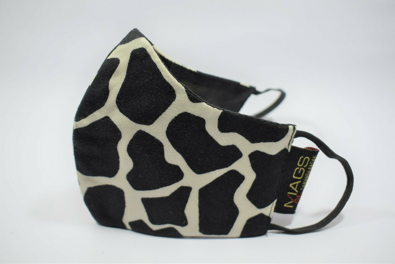Black & White Giraffe Print