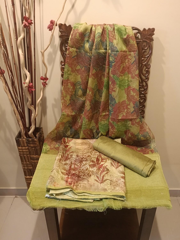 The Rich Green Silk