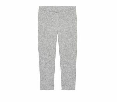 RIB leggings | Ljósgráar