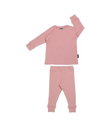 Cribstar | Ribbed Dusty Pink Sett