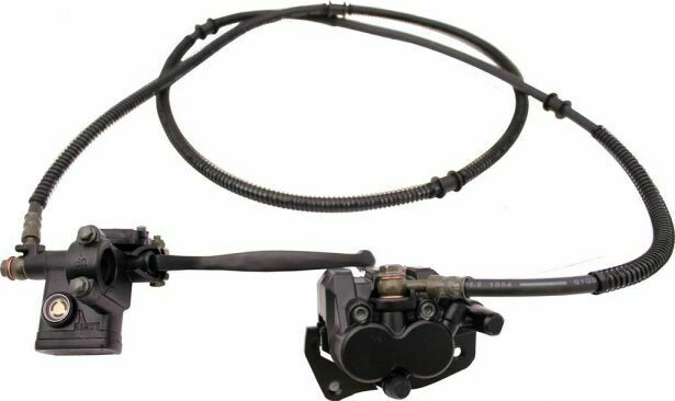 Hand Brake Lever and Caliper Assembly 90A2290