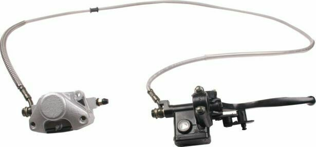 Hand Brake Lever and Caliper Assembly 90A2260