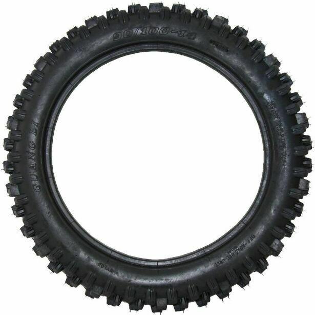 Tire - 90/100-14, 14 Inch