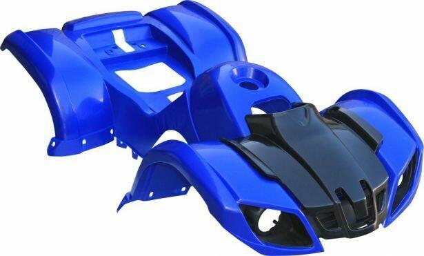 Plastic Set - 50cc to 125cc ATV, Blue, Utility Style 70A7120BU