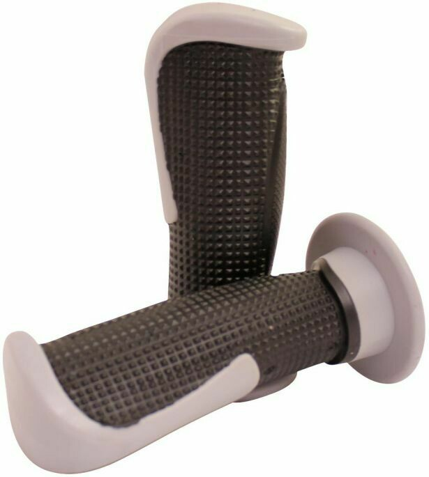 Throttle Grips - Tapered, Gray 70D1845GY