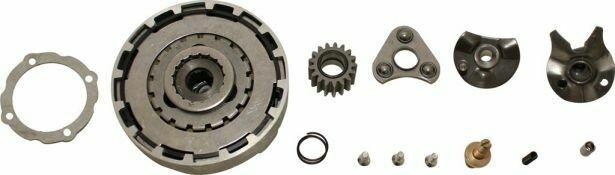 Clutch Kit - 50cc to 140cc (Triangular teeth) 30A3010