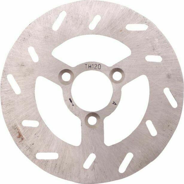 Brake Rotor - 3 Bolt 120mm 26mm Brake Disc, 50cc to 300cc 90A2015