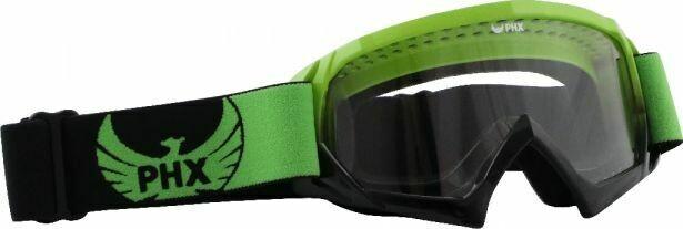 PHX GPro Youth X Goggles - Gloss Green/Black (50G8330GN)