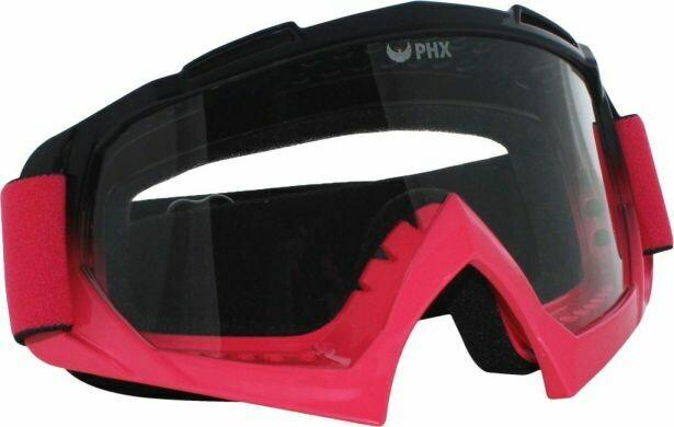 PHX GPro Adult Goggles - Gloss Black/Pink (50G7065PK)