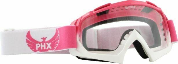 PHX GPro Adult Goggles - Gloss Pink/White (50G7068PK)
