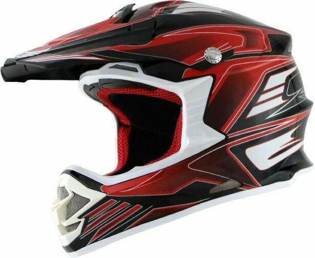 PHX Raptor - Tempest, Gloss Red, XS 50H8005RD-XS