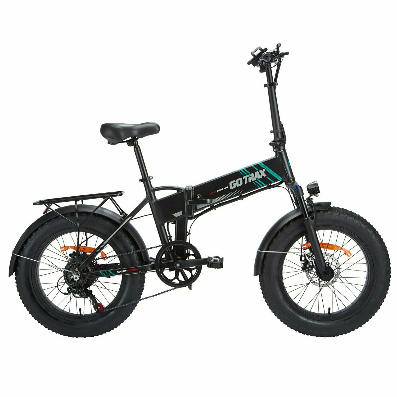GoTrax EBE4 Fat Tire Electric Bike - 48v 10ah