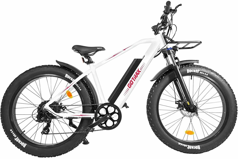 GoTrax EBE5 Fat Tire Electric Bike - 48v 12.5Ah