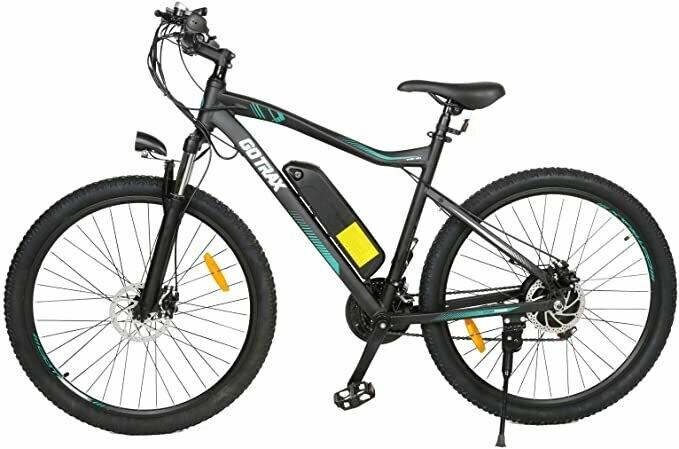 GoTrax EBE3 Electric Bike Mountain Bike - 48v 10ah