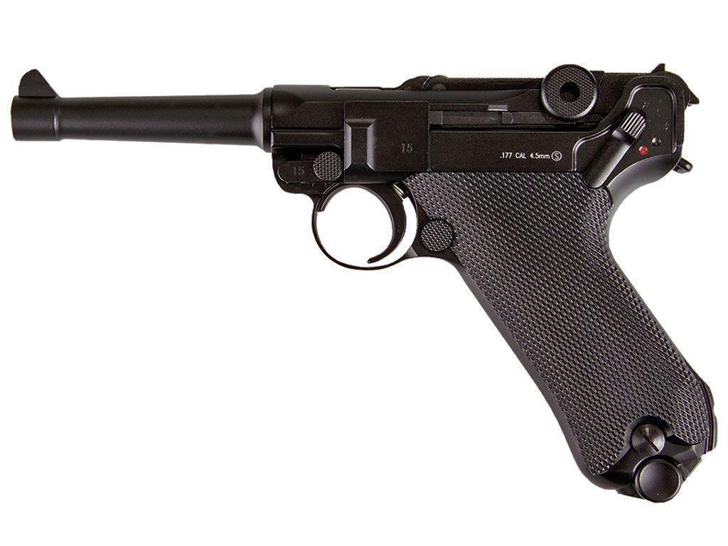KWC P08 Luger Co2 4.5mm Air Pistol