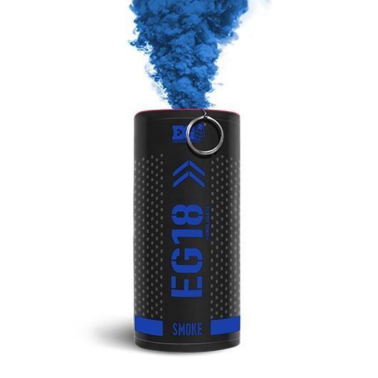 Enola Gaye EG18 High Output Smoke Grenade - Blue