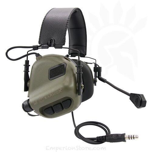 Earmor M32 Mod 3 Tactical Communication Headset - Foliage Green