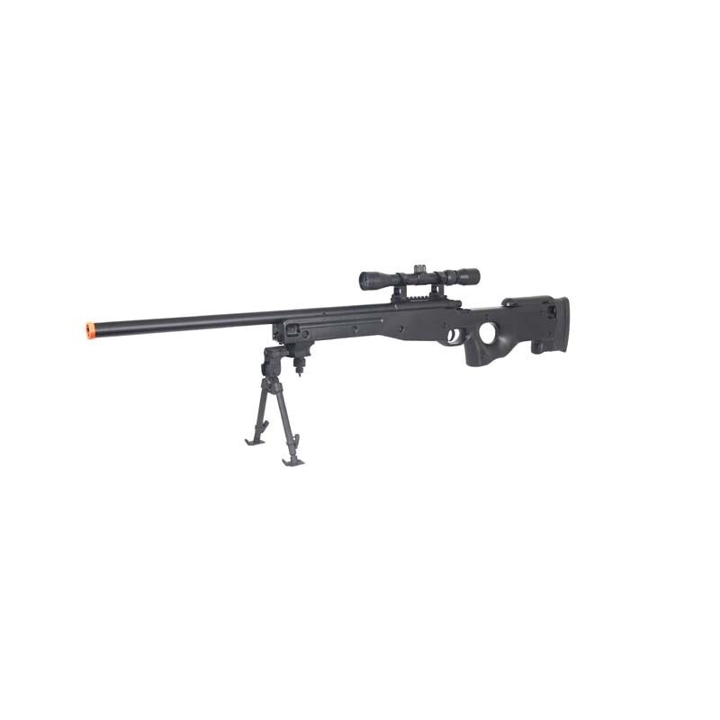 UL-L96 Bolt Action Sniper Rifle w/ Scope and Bipod