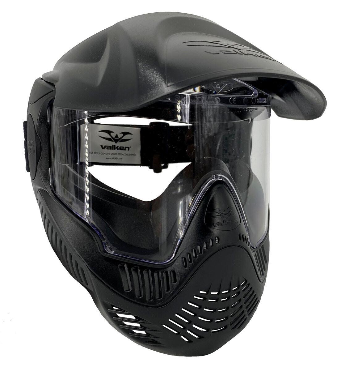 Valken MI-5 Single Lens Field Goggles - Black