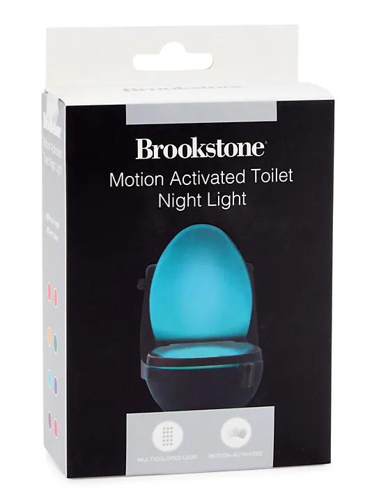 Brookstone Motion Activated Toilet Night Light