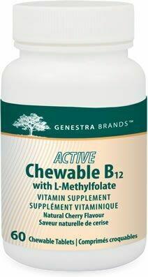 Active Chewable B12 + Methylfolate