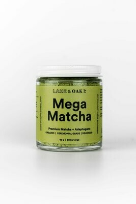 Lake And Oak Mega Matcha