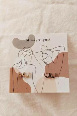 Mimi & August Boob Earrings