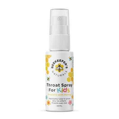Bee Keepers Propolis Throat Spray for KIDS