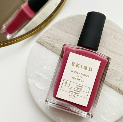 BKIND Non Toxic Smokey Rose Nail Polish