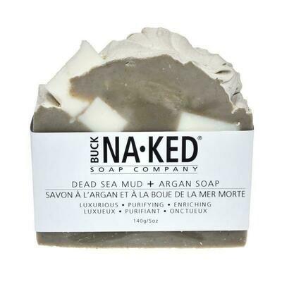 BUCKNAKED Dead Sea and Argan Soap