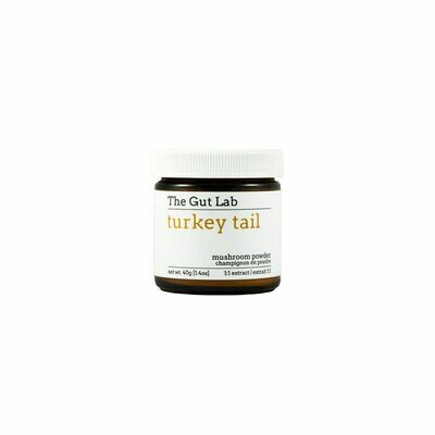 The Gut Lab Turkey Tail Mushroom Powder